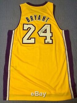 100% AUTHENTIC Kobe Bryant Signed Autographed Jersey Panini Authenticated
