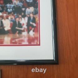 1988 Michael Jordan 16x20 Autographed Gatorade Slam Dunk Photo Authenticated