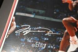 4 Michael Jordan signed / Upper Deck authenticated 16x20 framed photograph(s)