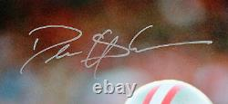 49ers Deion Sanders Authentic Signed 16x20 Vertical Photo BAS Witnessed