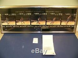 ANFERNEE PENNY HARDAWAY ORLANDO MAGIC SIGNED PHOTO Upper Deck Authentic UDA
