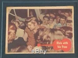 AUTHENTIC 1960's AUTOGRAPHED ELVIS PRESLEY EDGE OF REALITY ASSEMBLAGE
