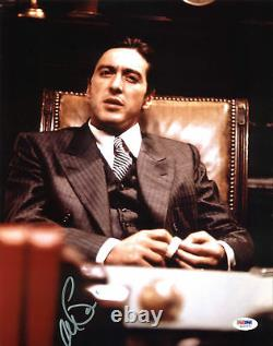 Al Pacino The Godfather Authentic Signed 11x14 Photo PSA/DNA Itp #5A00271
