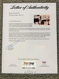 Astronaut John Young & Bob Crippen Signed Post STS-1 Photo-PSA DNA authenticated