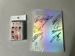Authentic Korea Bts Signed Album Love Your Self 2 CD +photo Card 30pcs