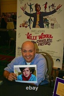Authentic WILLY WONKA Cast Signed 11x14 Photo not PSA Beckett Autograph + COA