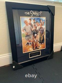 Authentic autographed framed poster of The Sandlot