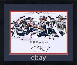 Autographed Tom Brady Patriots 16x20 Photo Fanatics Authentic COA Item#9369609