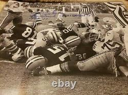 Bart Starr Signed Green Bay Packers Ice Bowl 16x20 Photo AUTHENTICATED