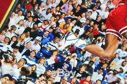 Bulls Michael Jordan Authentic Signed 16x20 Matted Photo BAS #A78912
