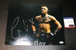 CONOR MCGREGOR Authentic 11x14 Autographed Photo Signed PSA JSA COA UFC