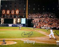 Cal Ripken Jr 2131 Autographed 16x20 Photo Jsa Coa Baltimore Orioles Authentic