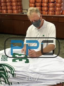 Celtics Larry Bird Authentic Signed 16x20 Photo with Red Auerbach BAS Witnessed