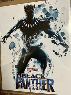 Chadwick Boseman (Black Panther) Autographed Signed 8x10 Photo Authentic COA