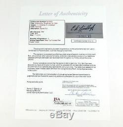 Charles Lindbergh / Anne Lindbergh Signed Cut with 8 x 10 Photo JSA Auto