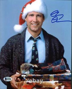 Chevy Chase Christmas Vacation Authentic Signed 8X10 Photo BAS Witnessed 3