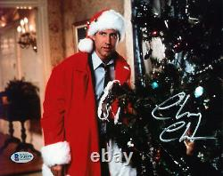 Chevy Chase Christmas Vacation Authentic Signed 8x10 Photo BAS Witnessed #W43379