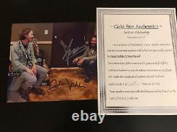 Chris Cornell And Eddie Vedder autographed 8x10 photo, signed, authentic, COA