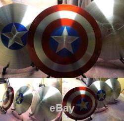 Chris Evans Signed 24 Captain America shield Autograph JSA authenticated