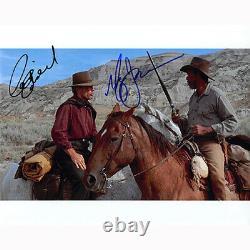 Clint Eastwood & Morgan Freeman (87218) Authentic Autographed 8x10 + COA