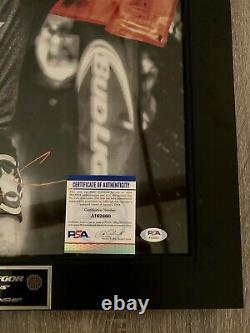 Conor McGregor16x20 signed Notorious autograph PSA Authenticated