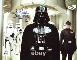 David Prowse Star Wars Darth Vader Authentic Signed 11X14 Photo BAS 7