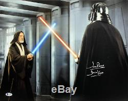 David Prowse Star Wars Darth Vader Authentic Signed 16X20 Photo BAS 4