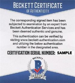 Denzel Washington Signed 12x18 Photo He Got Game Authentic Autograph Beckett Coa