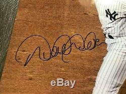 Derek Jeter signed 16X20 photo. Autographed, MLB Authenticated, Steiner COA
