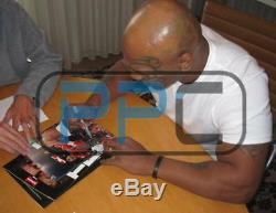Evander Holyfield & Mike Tyson Authentic Signed 1997 Fight Program PSA/DNA ITP