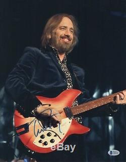 Free Fallin' Tom Petty Signed 11x14 Photo Authentic Autograph Beckett Bas Coa
