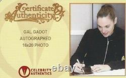 GAL GADOT Signed Autograph 16x20 Photo Wonder Woman Celebrity Authentics