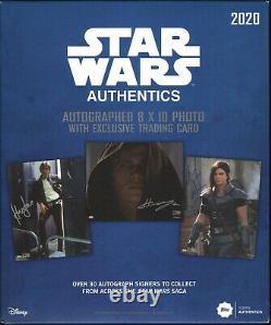Gina Carano. Official Star Wars Authentics signed photo. The Mandalorian