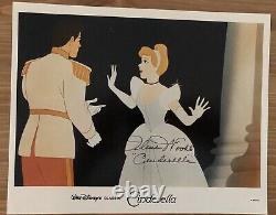 Ilene Woods Signed Voice Of Cinderella PSA Authenticated Autographed 9x11 Photo