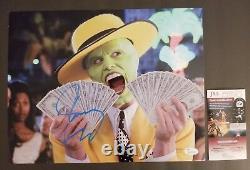 JIM CARREY Authentic Hand-Signed THE MASK 11x14 Photo (JSA COA)