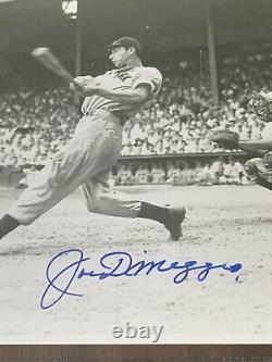 JOE DIMAGGIO SIGNED AUTOGRAPH 8X10 PHOTO/plaque 34/1941 JSA LOA Free shipping