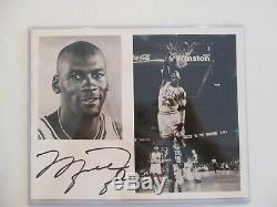 JSA Authentic Signed Michael Jordan Auto 8x10 Photo Photograph Chicago Bulls LOA
