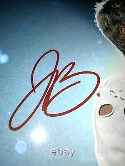JUSTIN BIEBER Authentic Hand Signed Autograph 10x8 Photo with COA