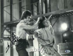 Jackie Chan Signed 11x14 Photo Bruce Lee Authentic Autograph Beckett Coa