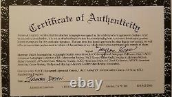 James Dean Hand Signed Autographed Authenticated Page