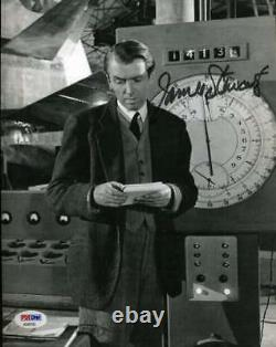 James Jimmy Stewart Hand Signed Psa Dna Coa 8x10 Photo Autograph Authentic