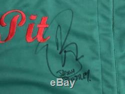 Jason Priestley 90210 Signed Authentic PEACH PIT SHIRT Autographed PSA/DNA #2