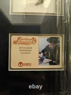 Jeff Goldblum Signed Jurassic Park 11x14 Photo Celebrity Authentics CA with Claw