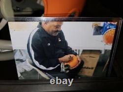 Jim Brown Autographed Authentic Suspension Browns Helmet Radtke Authentic/Pic
