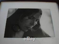 Jim Marshall Signed Joni Mitchell 1969 Authentic Auto Original Photo Very Rare