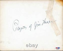 Jim Thorpe Property Of Authentic Signed 8x10 Photo Autographed PSA/DNA #H49339
