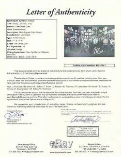 John Krasinski Rainn Wilson +11 Authentic Hand Signed 11x17 The Office JSA LOA