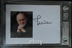 John Williams Signed Autograph 5x7 STAR WARS COMPOSER Beckett BAS Authentic Slab