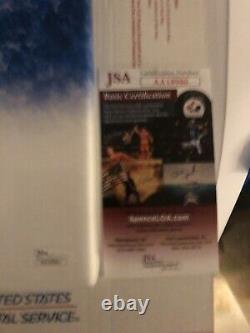 Jose Bautista SIGNED 16x20 CUSTOM CANVAS JSA Authenticated. Joey Bats Insc