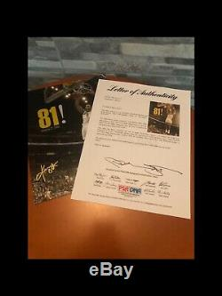 KOBE BRYANT AUTHENTIC Signed PICTURE PHOTO PSA/DNA Letter